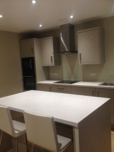 High Gloss Fitted Kitchen in Sheffield